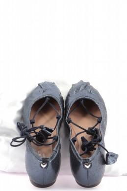 Chaussures Ballerines TWINSET BLEU MARINE