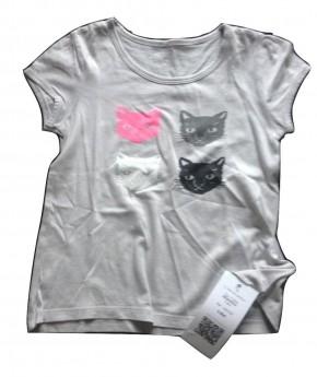Troc - Vente de Top / T-Shirt MONOPRIX Fille