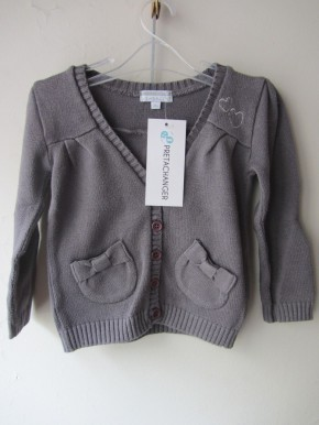 Pull / Gilet KIMBALOO Fille 2 ans
