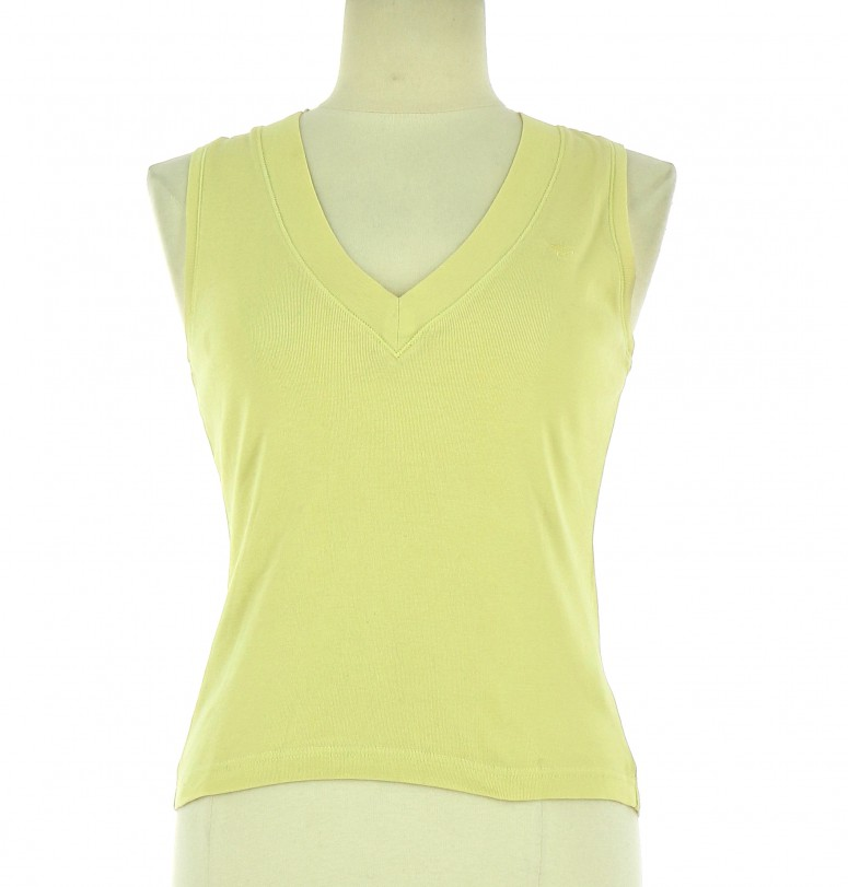Vetements Tee-Shirt ESPRIT JAUNE