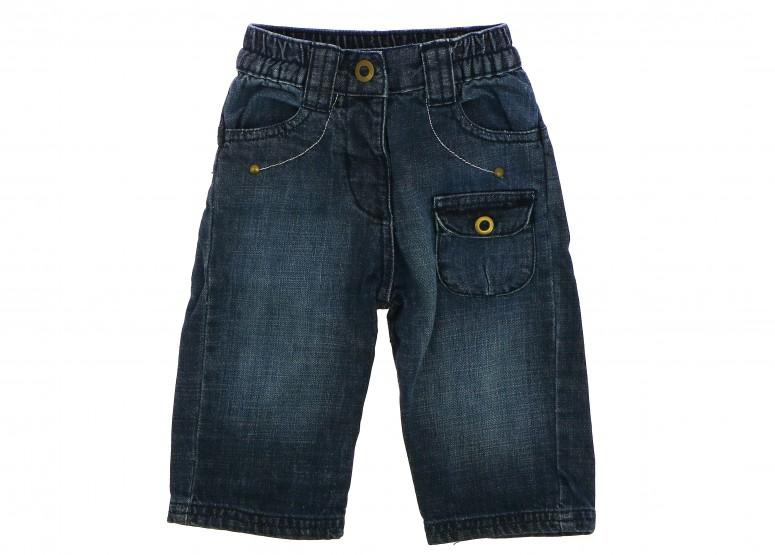 Vetements Jeans DPAM (DU PAREIL AU MEME) BLEU MARINE