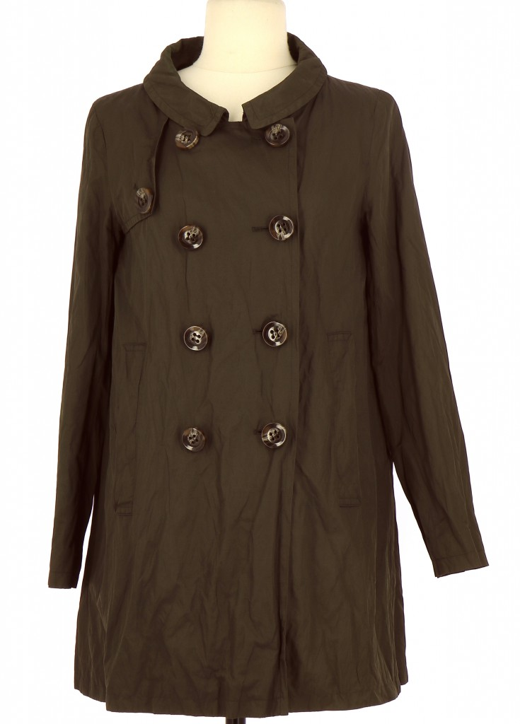 Vetements Trench CYRILLUS MARRON