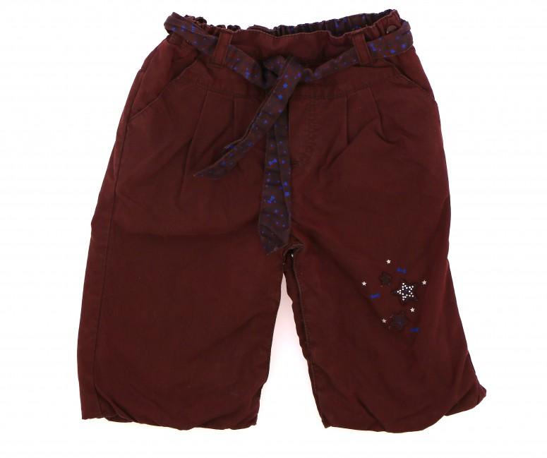 Vetements Pantalon SERGENT MAJOR BORDEAUX