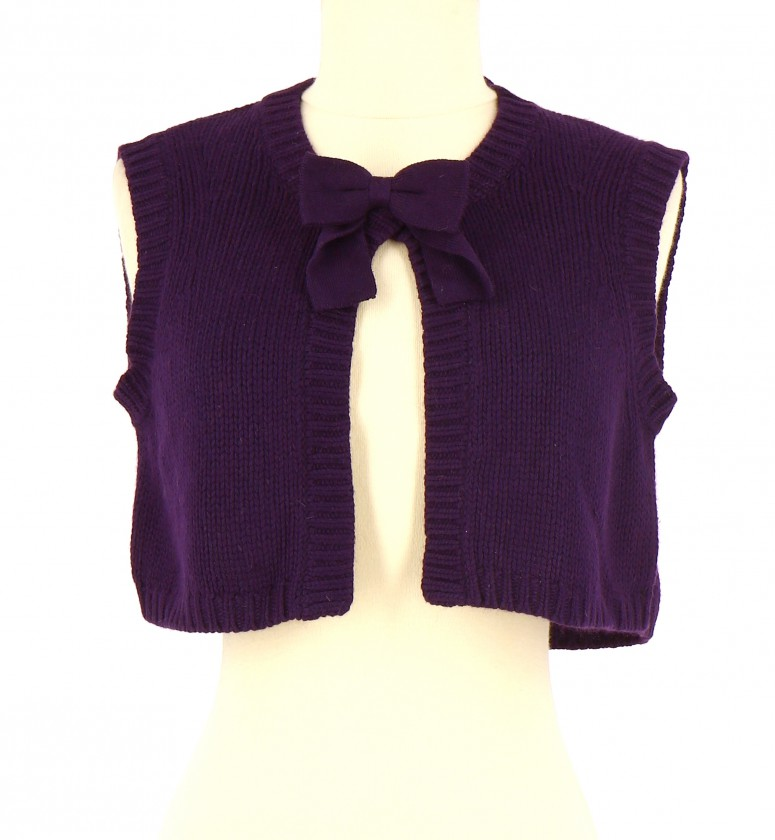Vetements Gilet MAJE VIOLET