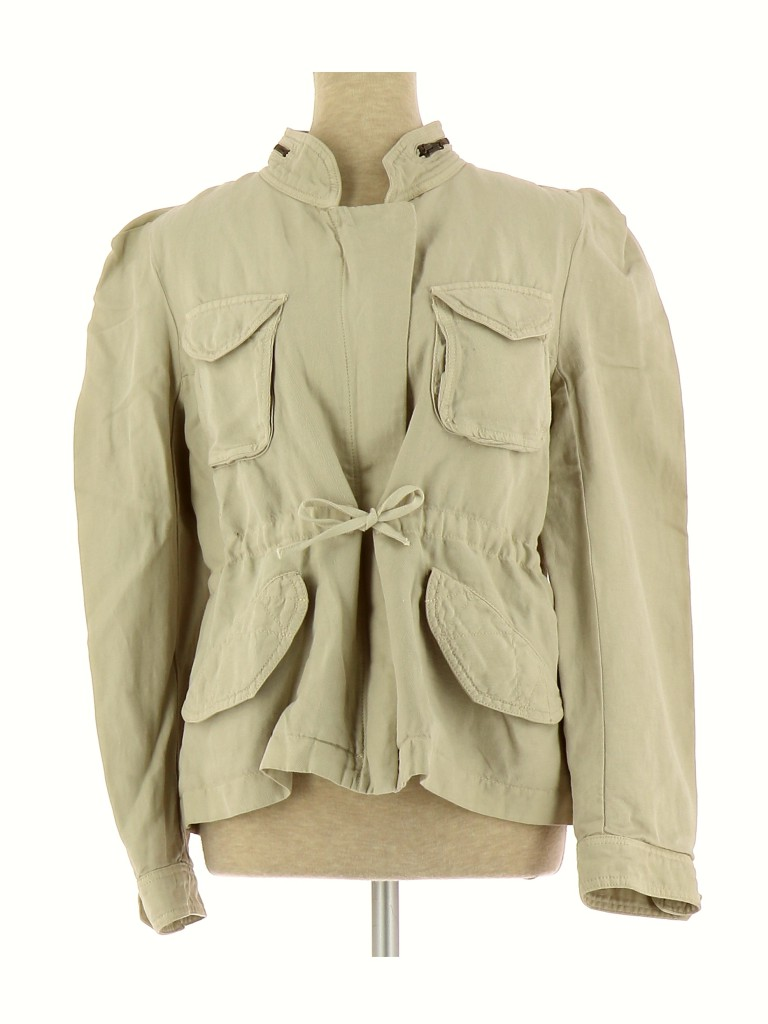 Vetements Blouson SANDRO BEIGE