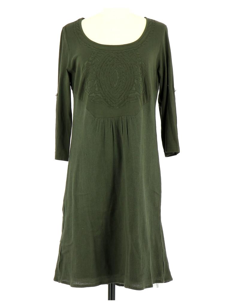 Vetements Robe I CODE BY IKKS VERT FONCé