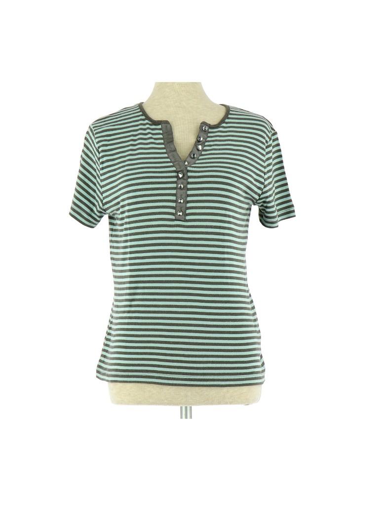Vetements Tee-Shirt CAROLL BLEU