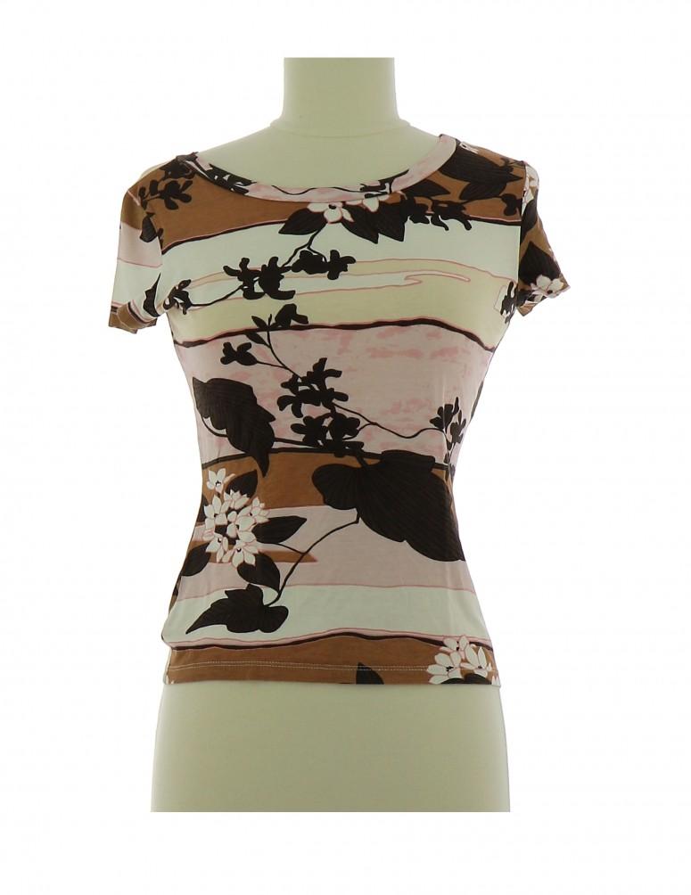 Vetements Tee-Shirt CAROLL MULTICOLORE