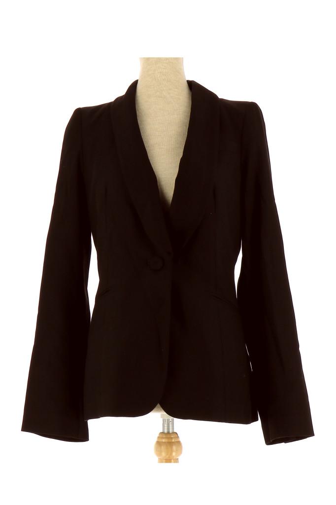 veste blazer comptoir des cotonniers femme fr 38 pas cher en achat vente. Black Bedroom Furniture Sets. Home Design Ideas