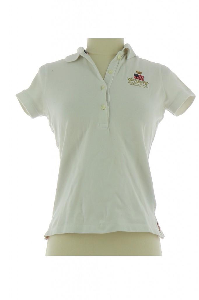 Tee-Shirt RALPH LAUREN Femme XS pas cher en Achat - Vente 16e59bf0f158