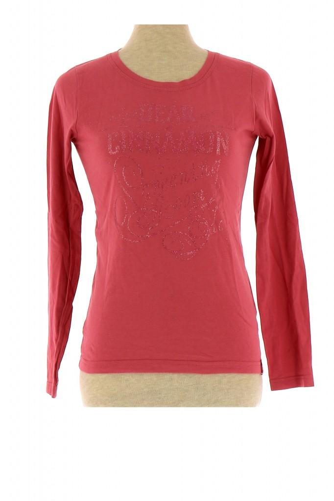 Vetements Tee-Shirt EDC ROSE