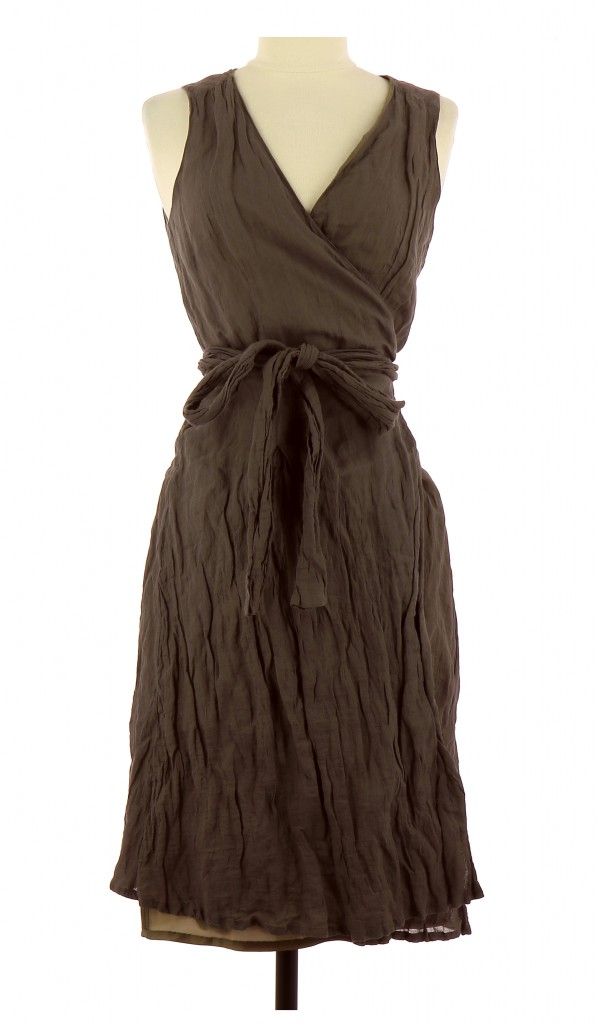 Vetements Robe 123 MARRON
