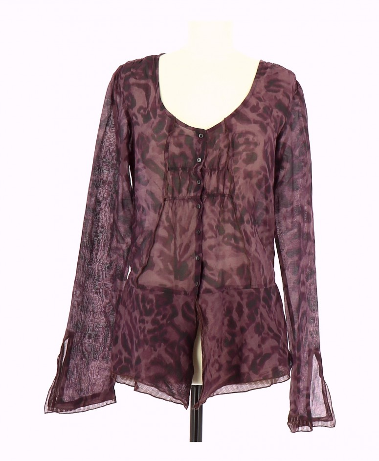 Vetements Blouse IKKS VIOLET