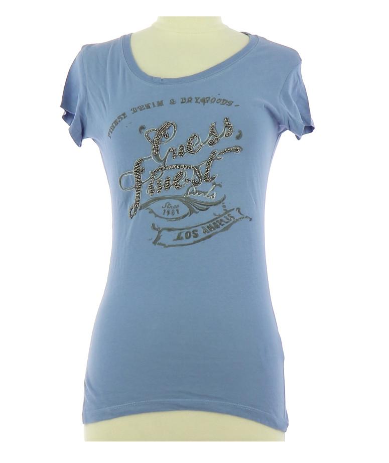 c3458646d70 Tee-Shirt GUESS Femme S pas cher en Achat - Vente