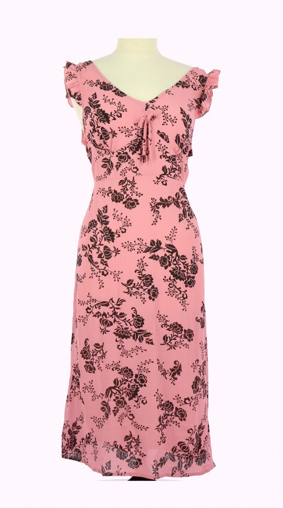 Vetements Robe LA REDOUTE ROSE