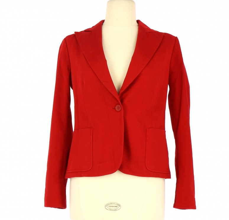 Vetements Veste / Blazer ZARA ROUGE
