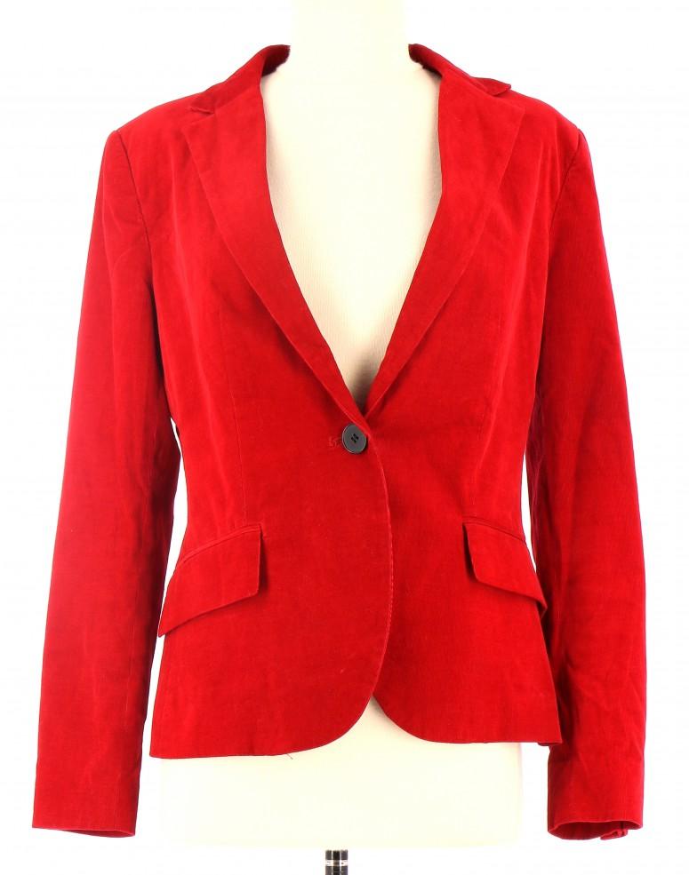 Vinny Vegetal Rouge Veste Femme Zara oleo info qUzZ8w