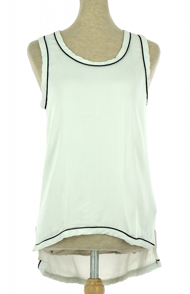 Vetements Top ZARA BLANC