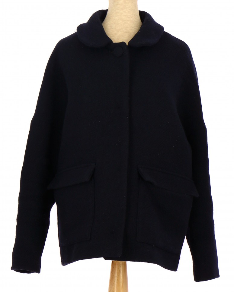 Vetements Manteau BA&SH BLEU MARINE
