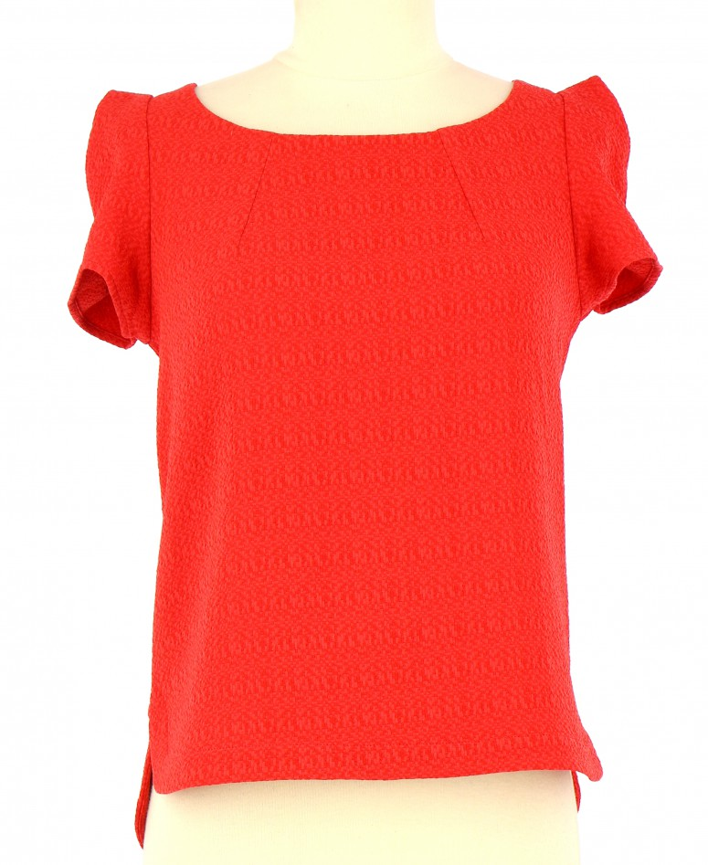 Vetements Top IKKS ROUGE