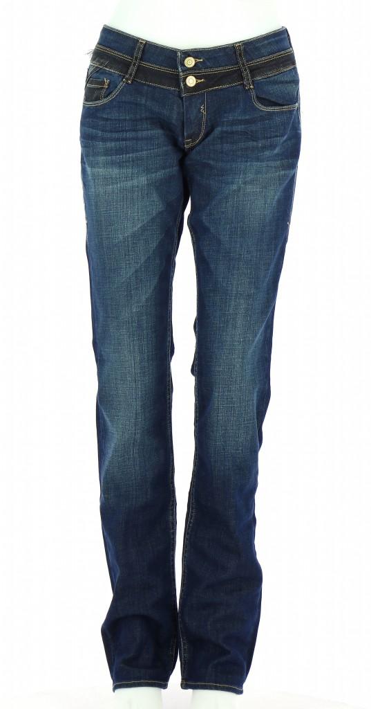 Vetements Jeans LE TEMPS DES CERISES BLEU