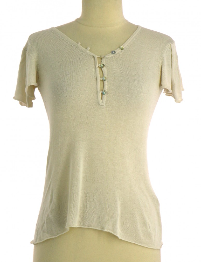 Vetements Top IKKS BEIGE