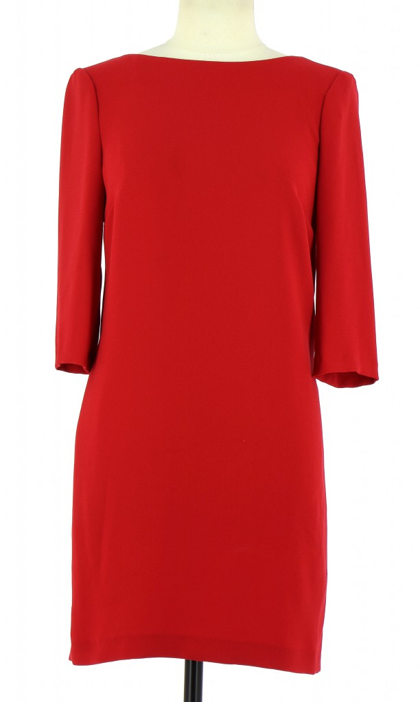 Vetements Robe CLAUDIE PIERLOT ROUGE