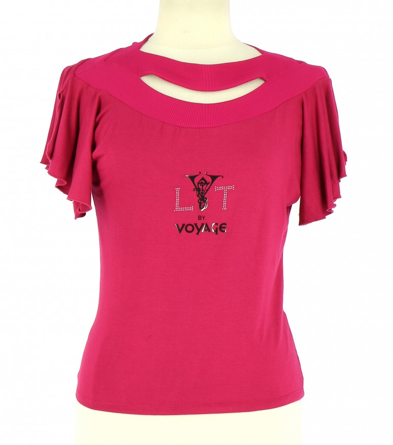 Vetements Tee-Shirt LYT BY VOYAGE FUSCHIA
