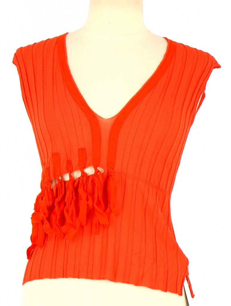 Vetements Top PIERANTONIO GASPARI ORANGE