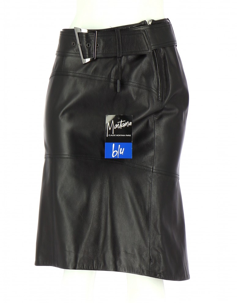 Vetements Jupe MONTANA BLU NOIR