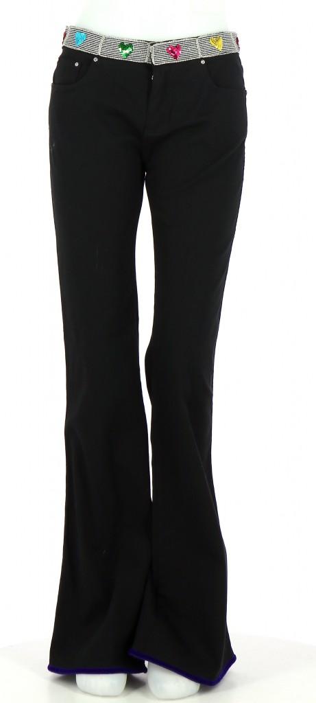 Vetements Pantalon VOYAGE PASSION NOIR