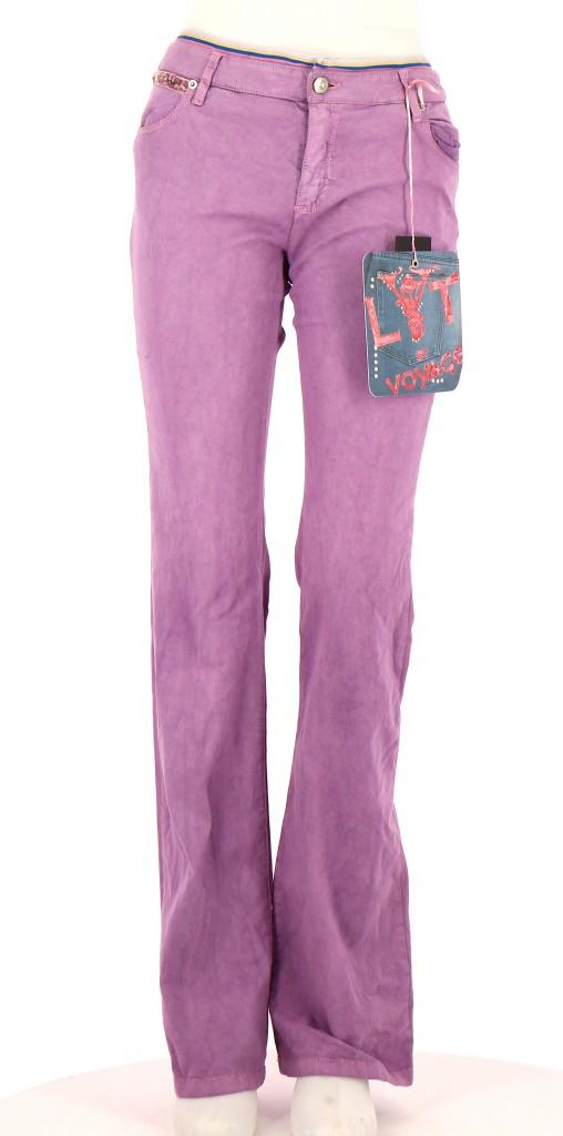 Vetements Pantalon LYT BY VOYAGE LAVANDE