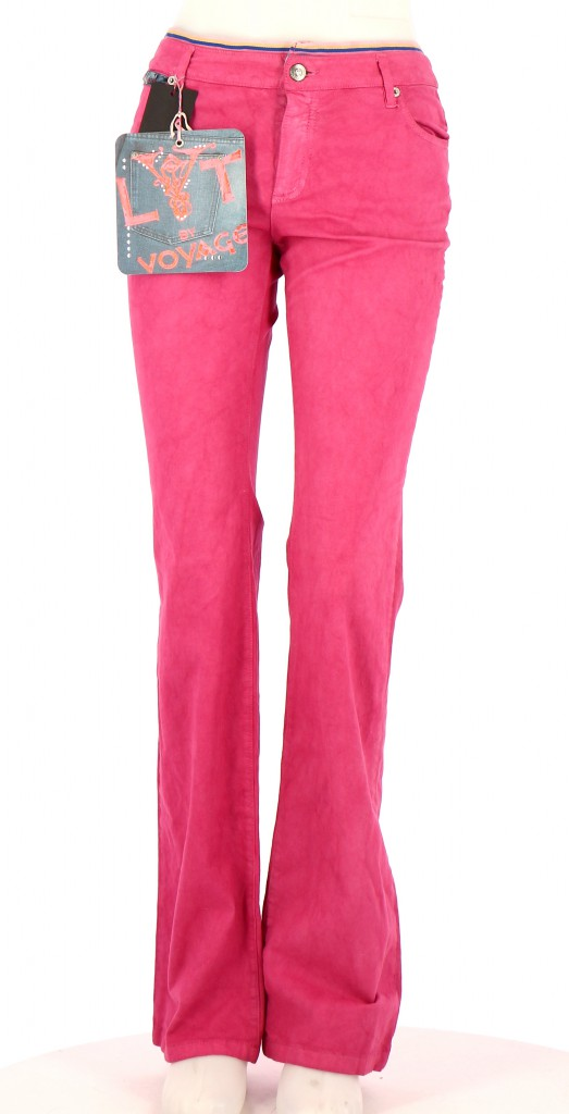 Vetements Pantalon LYT BY VOYAGE FUSCHIA