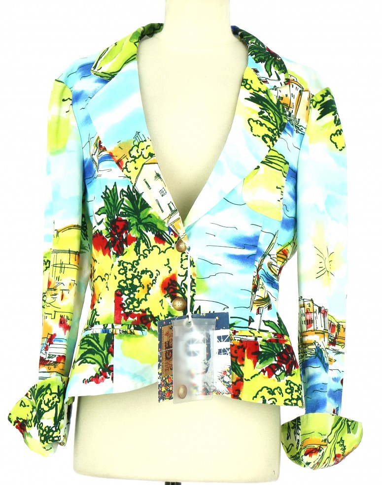 Vetements Veste / Blazer GIANFRANCO FERRE MULTICOLORE