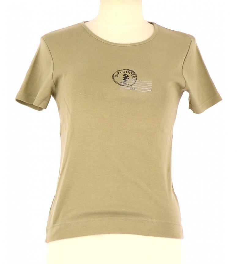 Vetements Tee-Shirt DIPLODOCUS VERT CLAIR