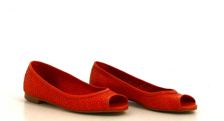 Chaussures Ballerines CREEKS ORANGE