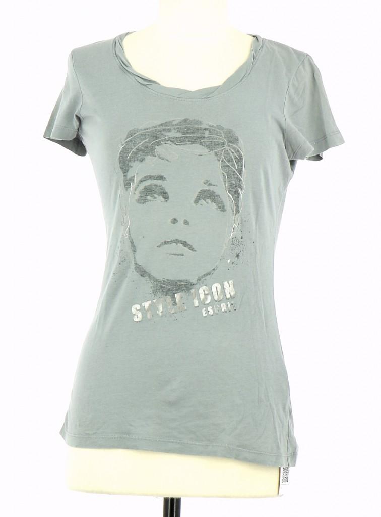 Femme En Vente Shirt T Esprit R4A5L3j