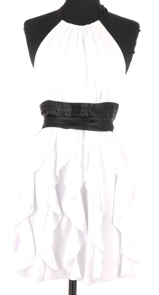 Vetements Robe BCBG MAX AZRIA BLANC