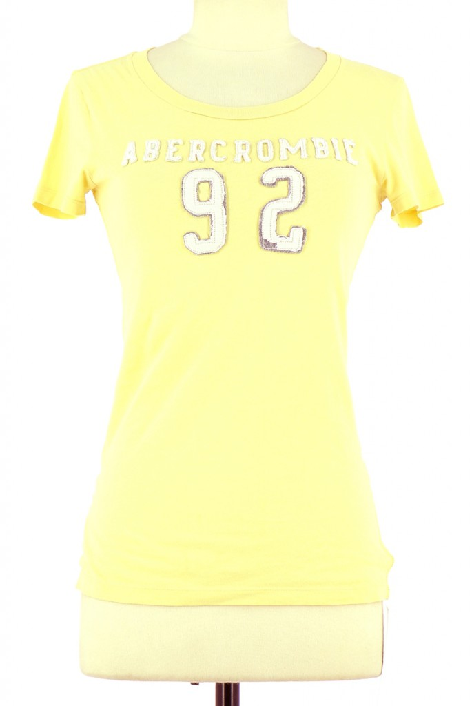 Vetements Tee-Shirt ABERCROMBIE JAUNE