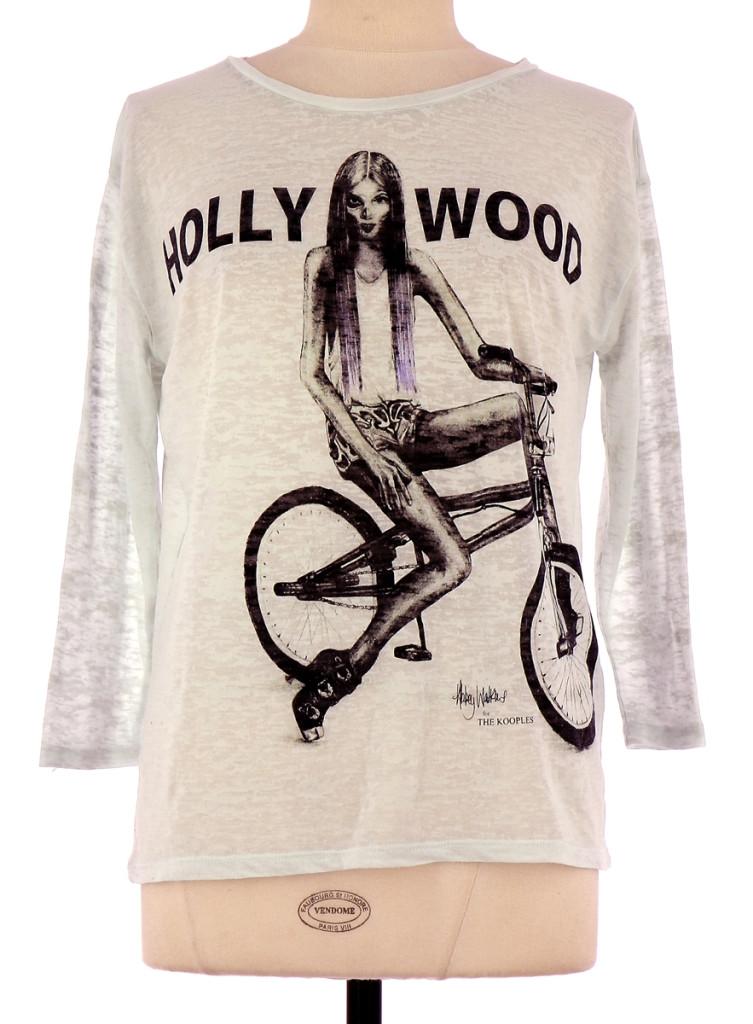 Xs Cher The Pas En Achat Kooples Femme Tee Sport Vente Shirt 80mvNOnyw