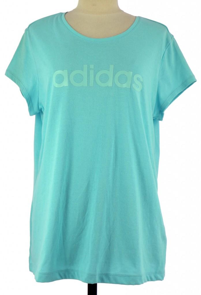 Vetements Tee-Shirt ADIDAS BLEU CLAIR