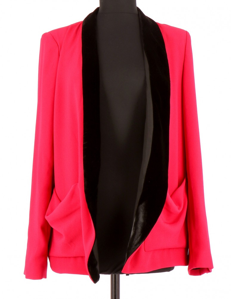 Vetements Veste / Blazer THE KOOPLES FUSCHIA