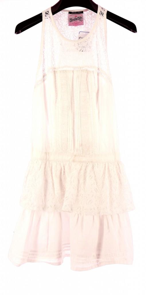 Vetements Robe SUPER DRY BLANC