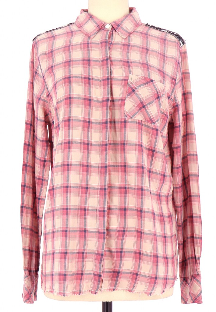 Vetements Chemise MAISON SCOTCH ROUGE