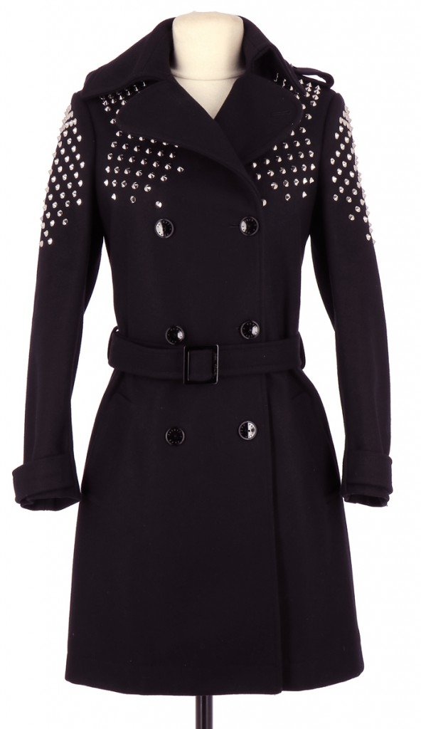 Vetements Manteau PATRIZIA PEPE NOIR