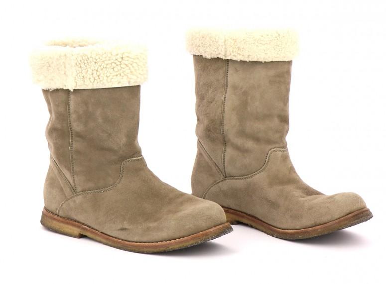 Chaussures Bottes COMPTOIR DES COTONNIERS BEIGE