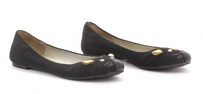 Chaussures Ballerines MARC JACOBS NOIR