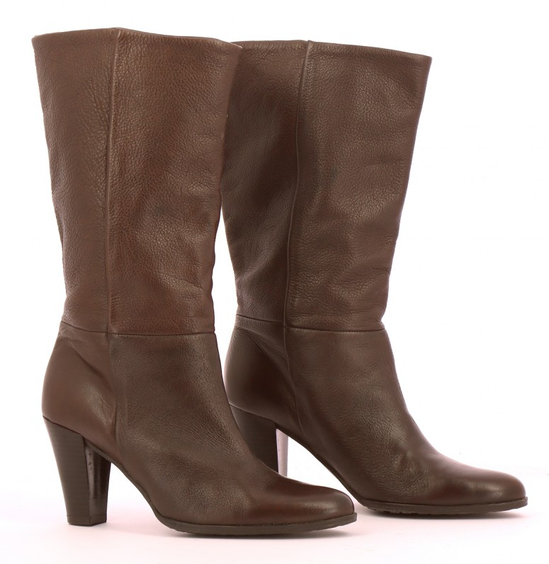 Chaussures Bottes BALMAIN MARRON
