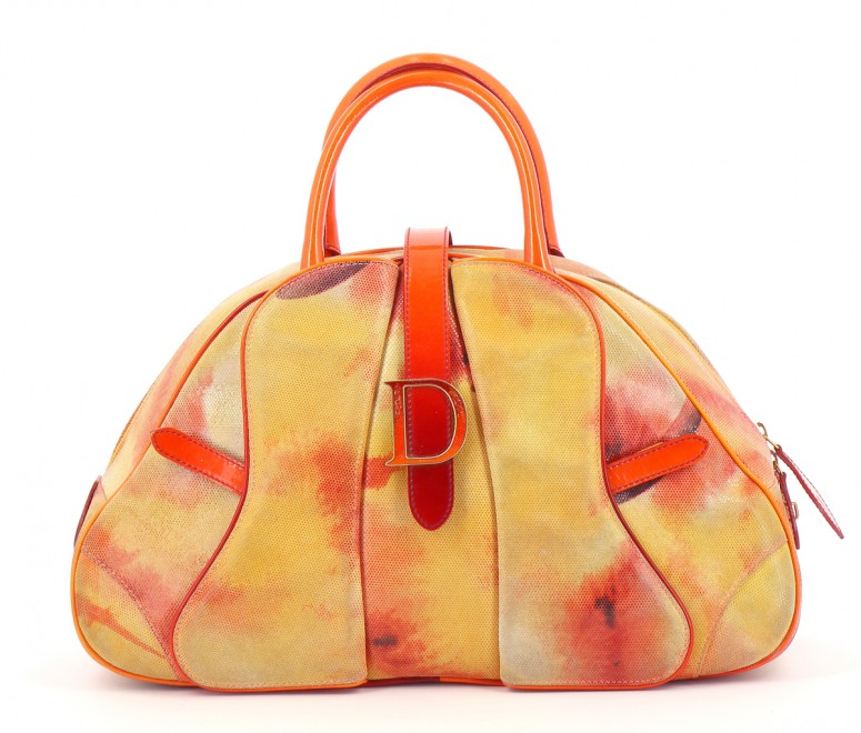 Sacs Sac à main DIOR ORANGE