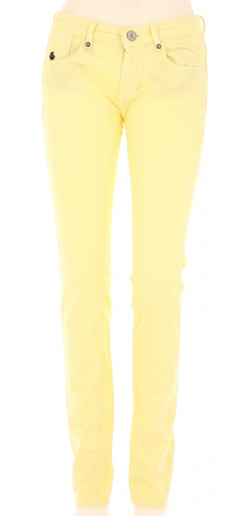Vetements Jeans MAISON SCOTCH JAUNE